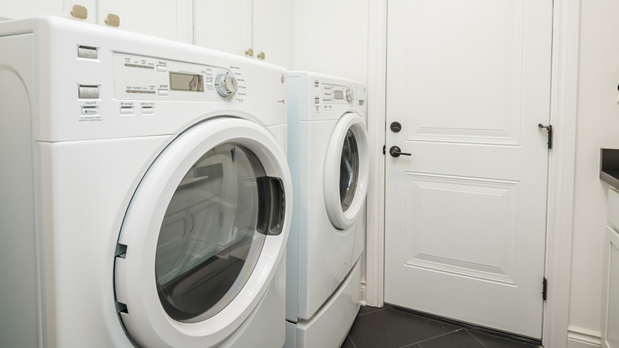 laundry room with washing machine