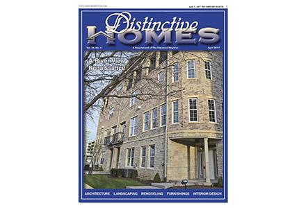 distinctive homes magazine cover