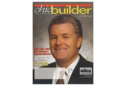 ohio builder front cover magazine