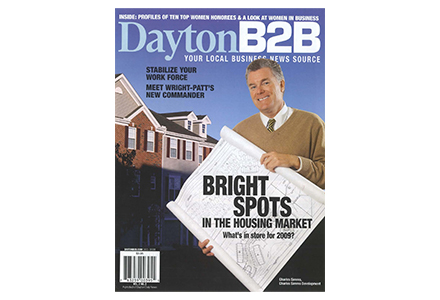 dayton b2b front cover magazine