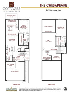 Cottages of BC Chesapeake Plan 0219 1 232x300