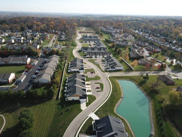 Cottages of Beavercreek area view