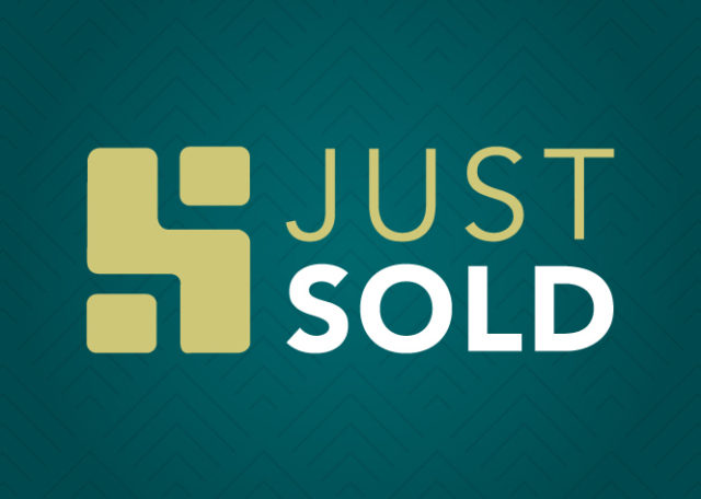 Just sold banner